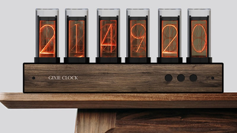 Steampunk Retro Full Color LED Clock