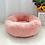 Thumbnail: Round Plush Pet Cushion