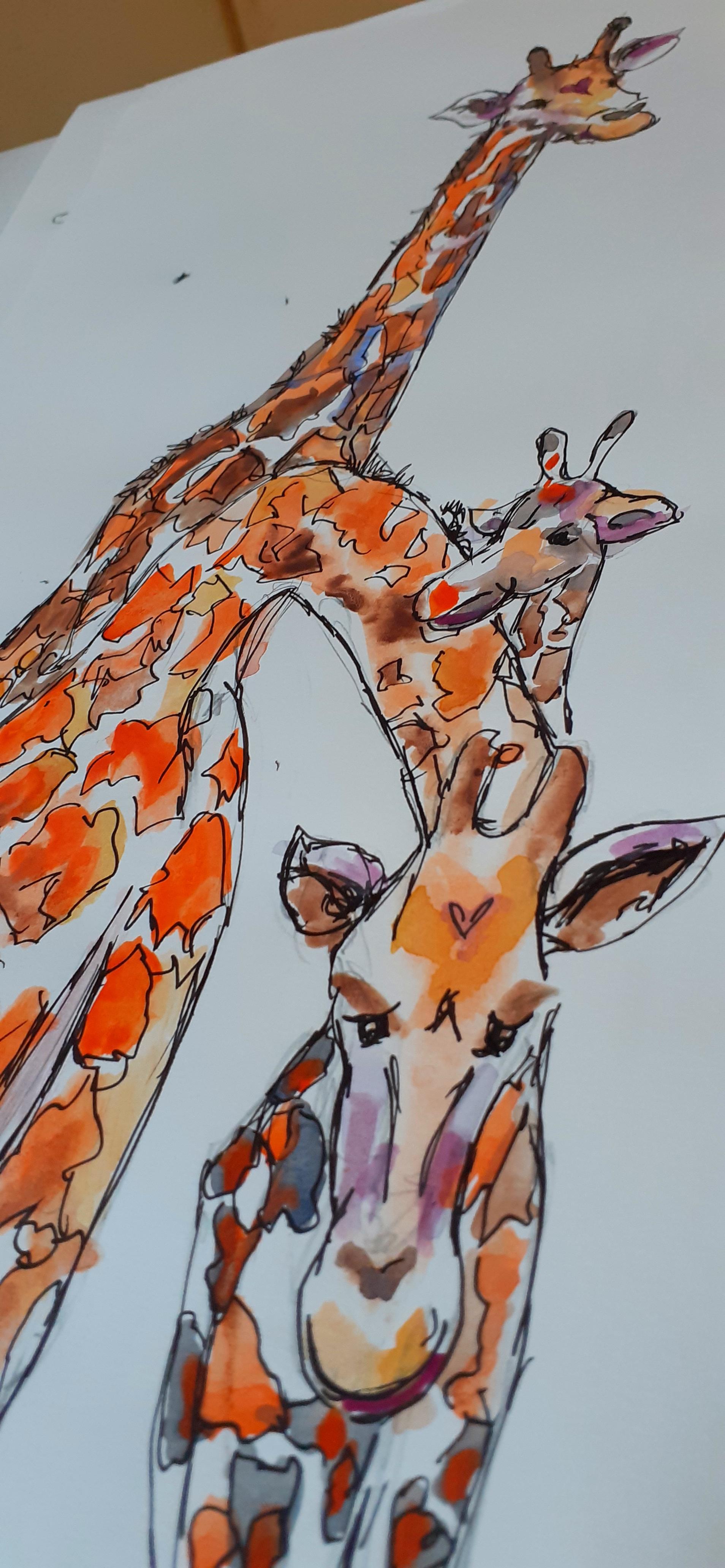 Giraffe & Co  - Sold