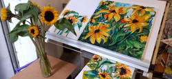 Sunflower Series  - Sold