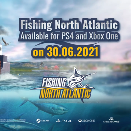 Fishing: North Atlantic coming for PS4 and XBOX One 30th June