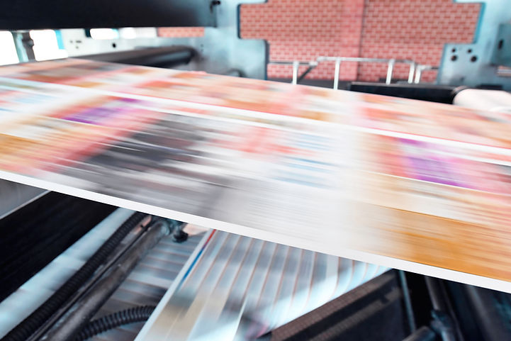 Commercial Printing Machine