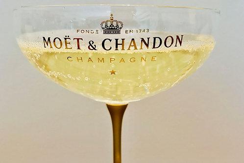 Coupe de champagne (marque en fonction des arrivages)