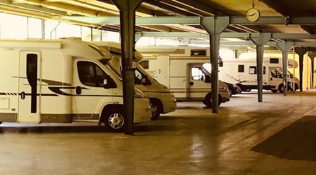 Wohnwagenplatz Caravanplatz Moutier