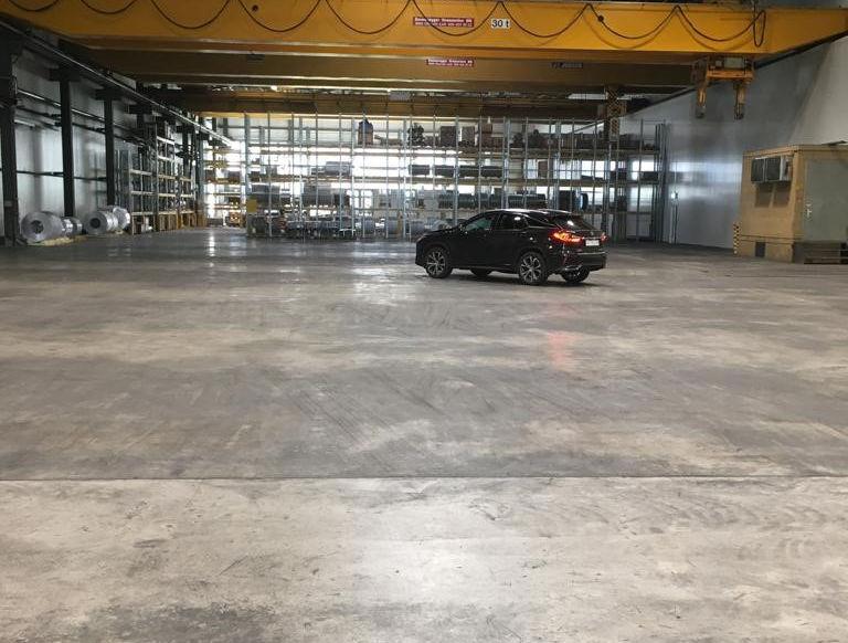 Sennwald Hallenplatz Wohnmobile