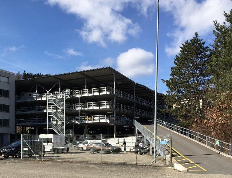 Gedeckte Abstellplätze in Winterthur