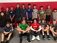 1st Boys winter camp is a wrap!  Next ca