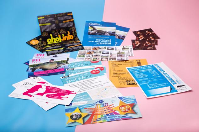 Corporate identity, grafické práce, kompletní reklamní servis