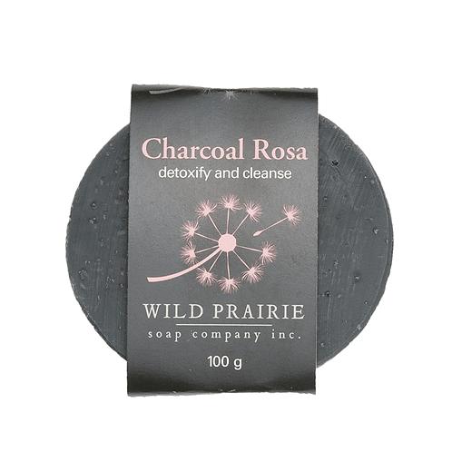 Charcoal Rosa Soap