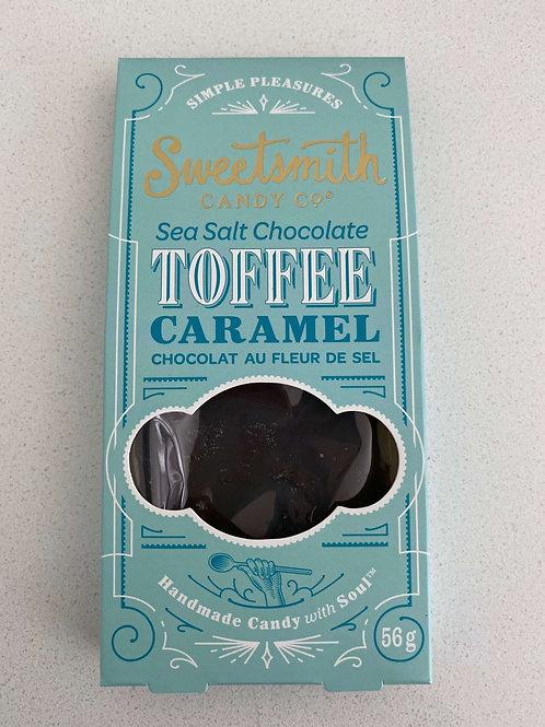 Sea Salt Chocolate Brittle