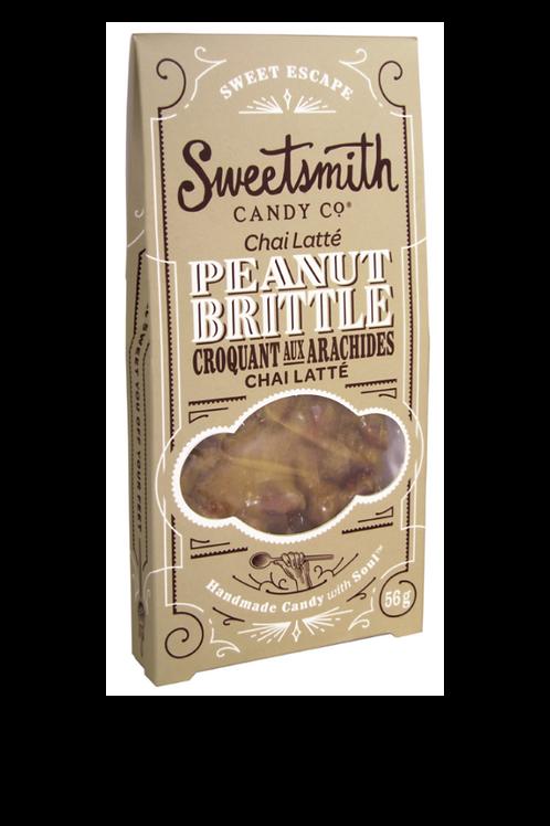Chai Latte Peanut Brittle