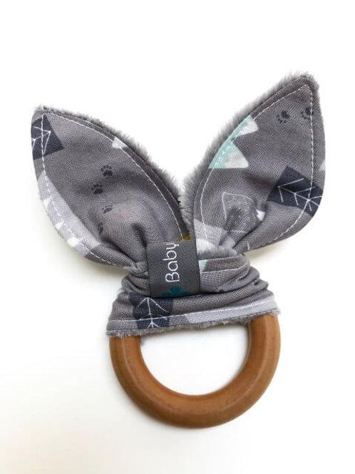 Grey Mountains Maple Teething Ring