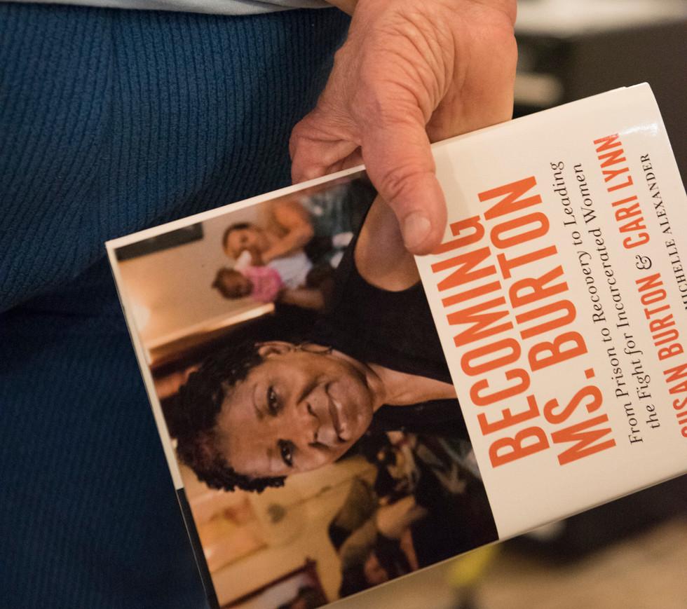 New York Times' best seller: Becoming Ms. Burton