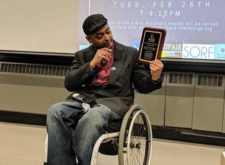 James Corbin II Wins MAS 6th Annual Social Justice & Community Service Award