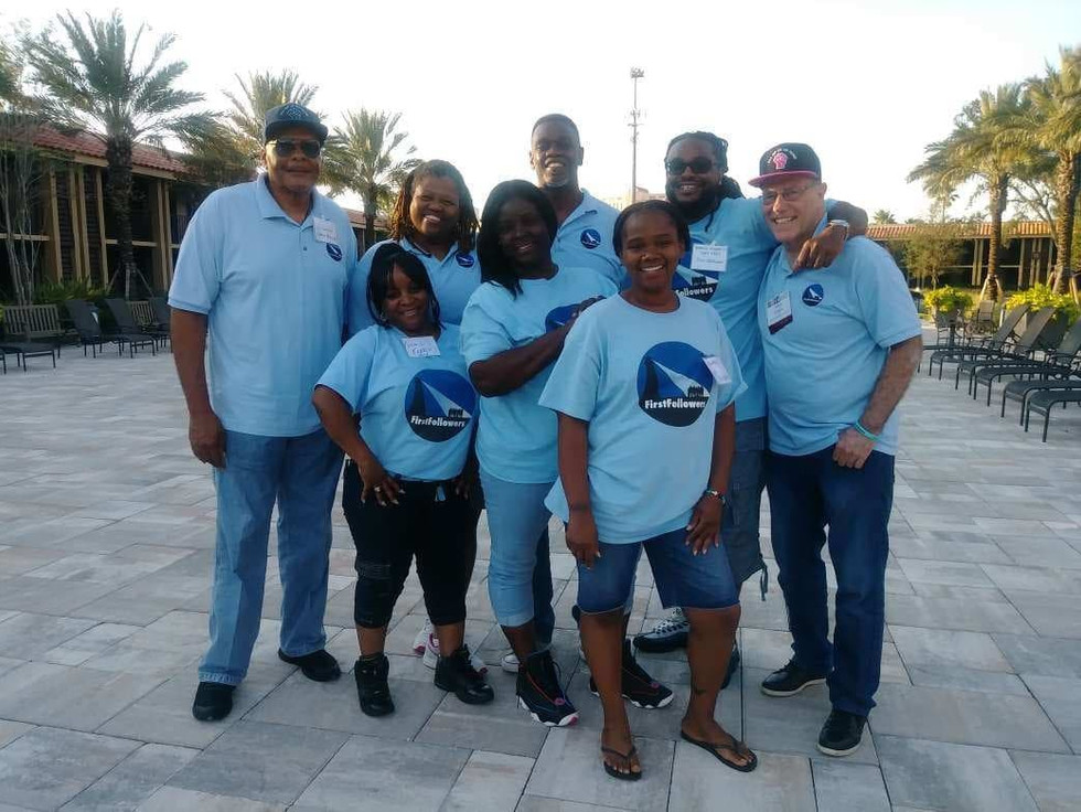 FirstFollowers working with other reentry groups in Florida.