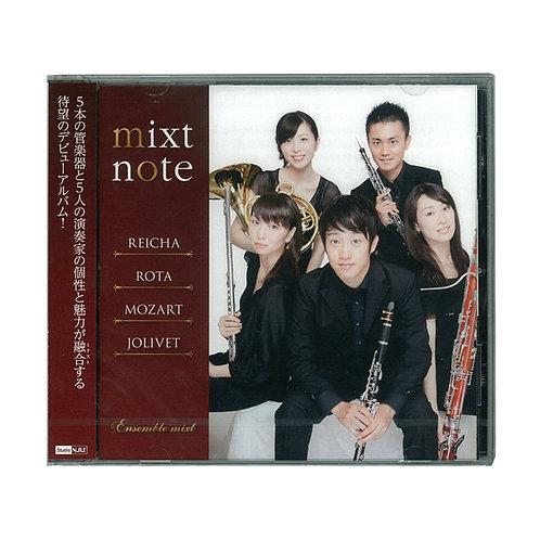 mixt note(ミクスト・ノート) ~木管五重奏曲集~