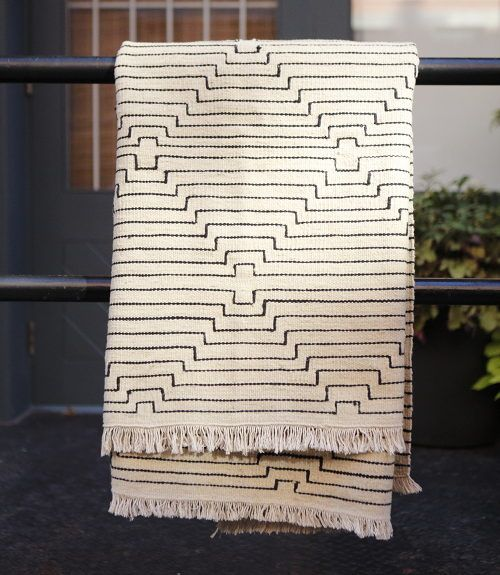 kilim blanket
