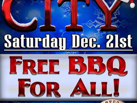 FREE BBQ FOR A DAY at Oregon BBQ Company!