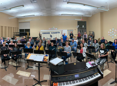 Introducing.....the Kindred Community Pep Band!