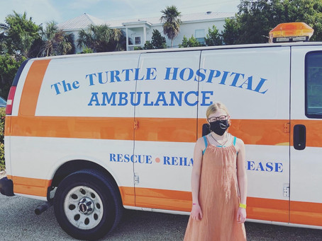 Local artist makes MASK CHAINS to help save turtles!