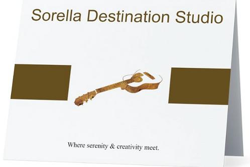 Sorella Destination Studio Notecard