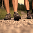 walking a pathway