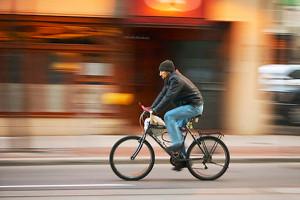 panning bicicletta