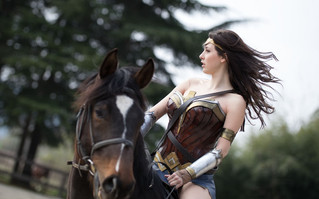 Wonder Woman - Set con Sara (postproduzione)
