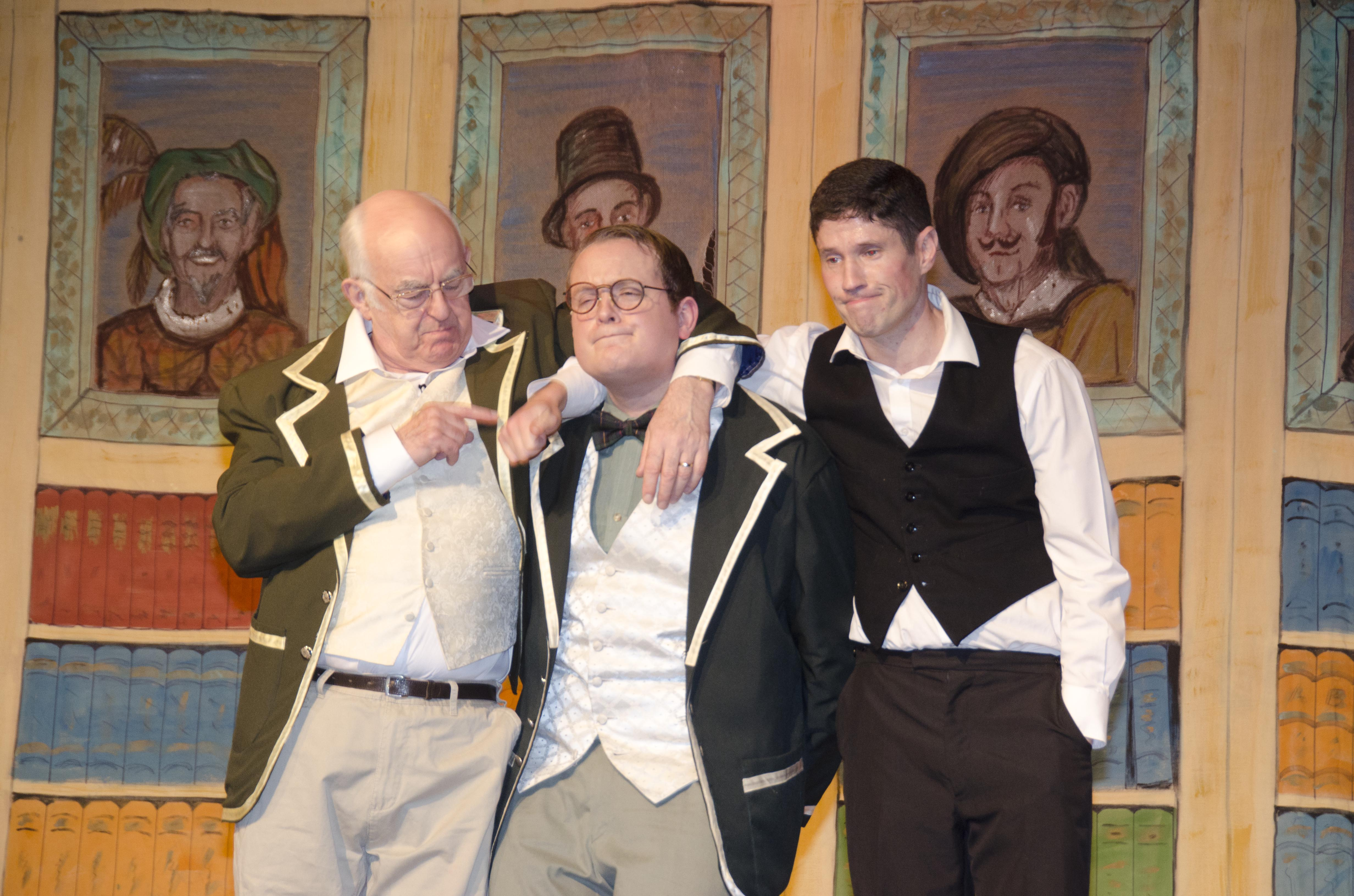 Sir John, Parchester & Bill