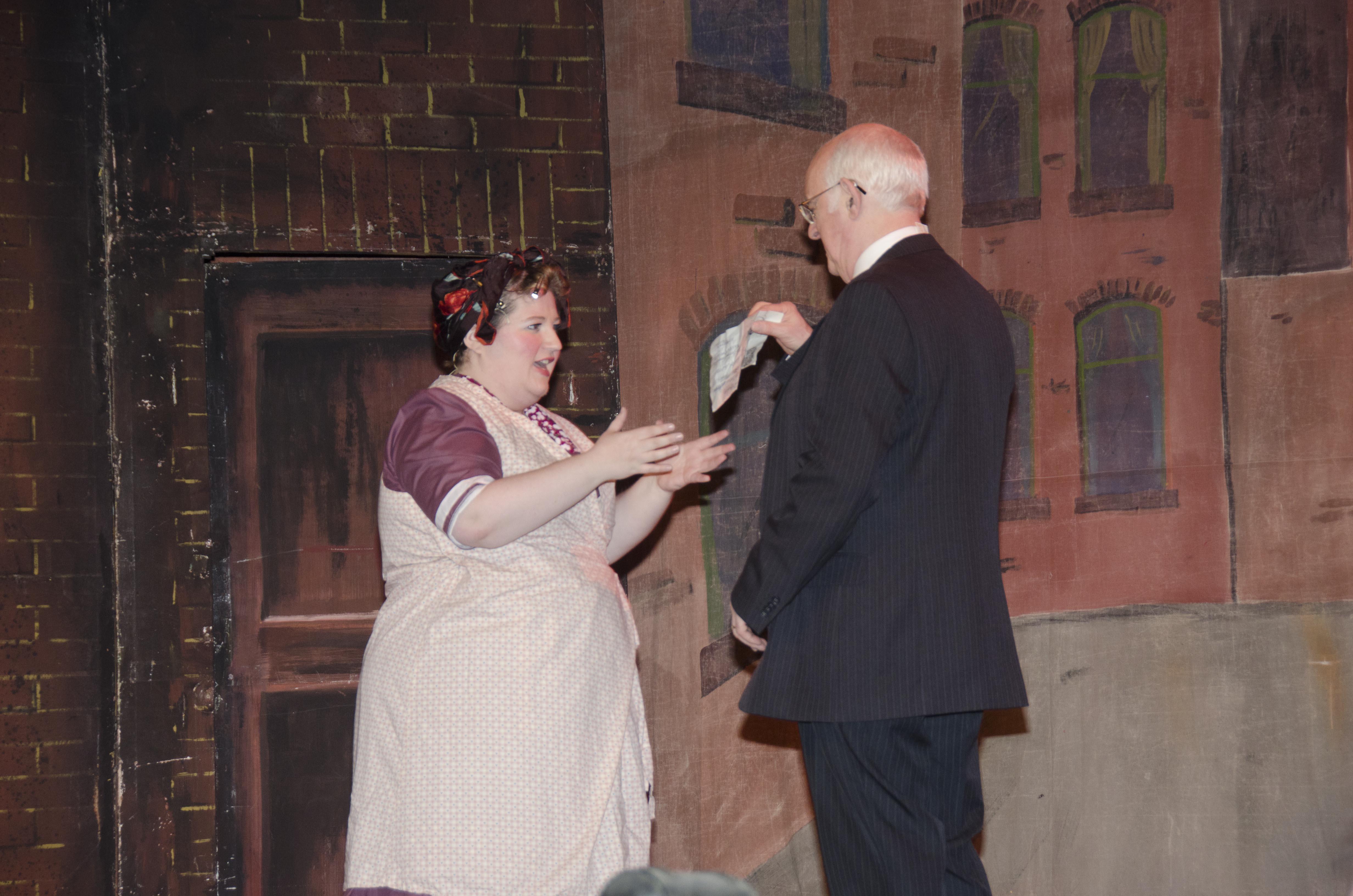 Mrs Brown & Sir John