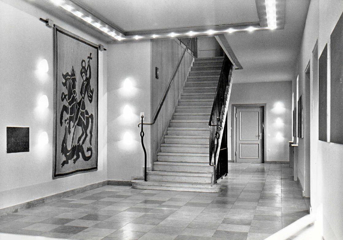 Haus Sankt Georg Eingangshalle 1975