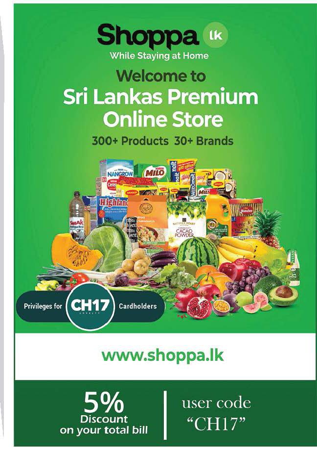5% Discount on Total bill from www.shoppa.lk