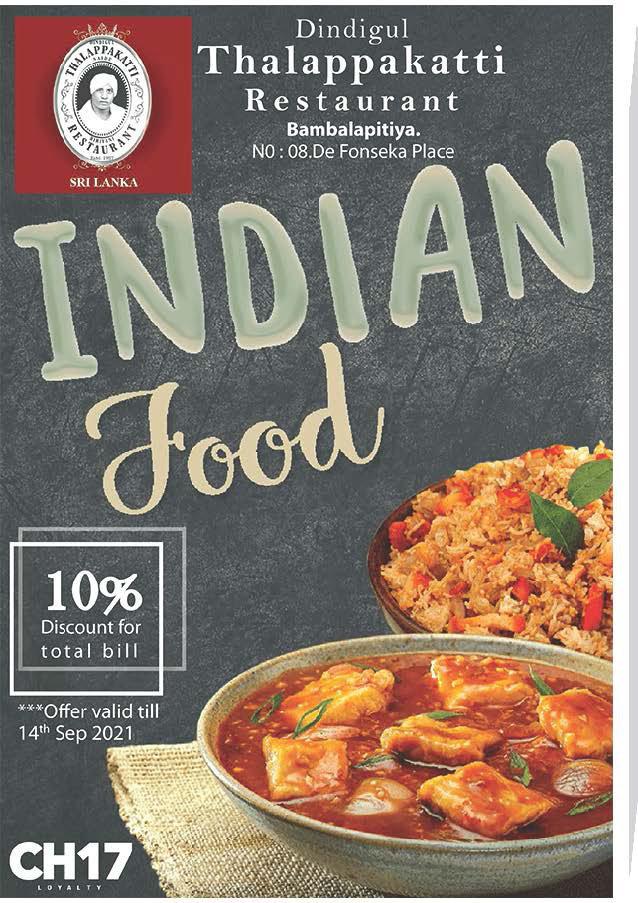 Love Indian food - Get 10% from Thalappakatti Restaurant
