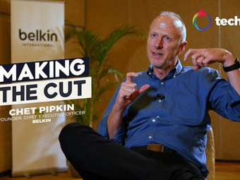 Making The Cut with Chet Pipkin, Founder & CEO of Belkin