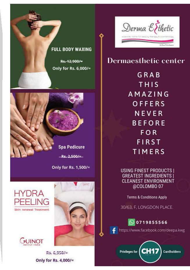 Get Exclusive discounts from Dermaesthetic Center