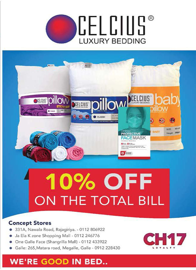 10% Off from the Total bill from Celcius
