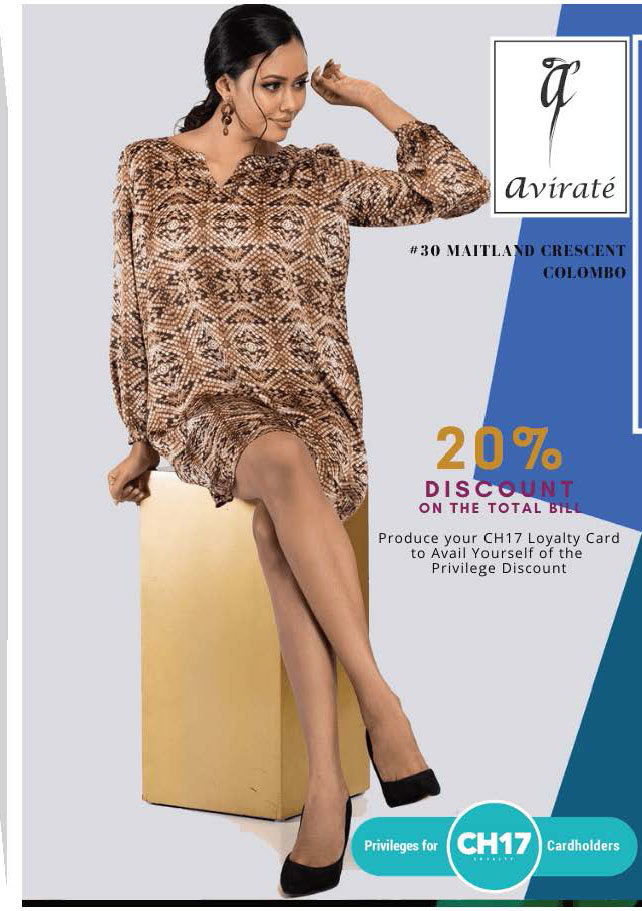 20% Discount from Total Bill from avirate