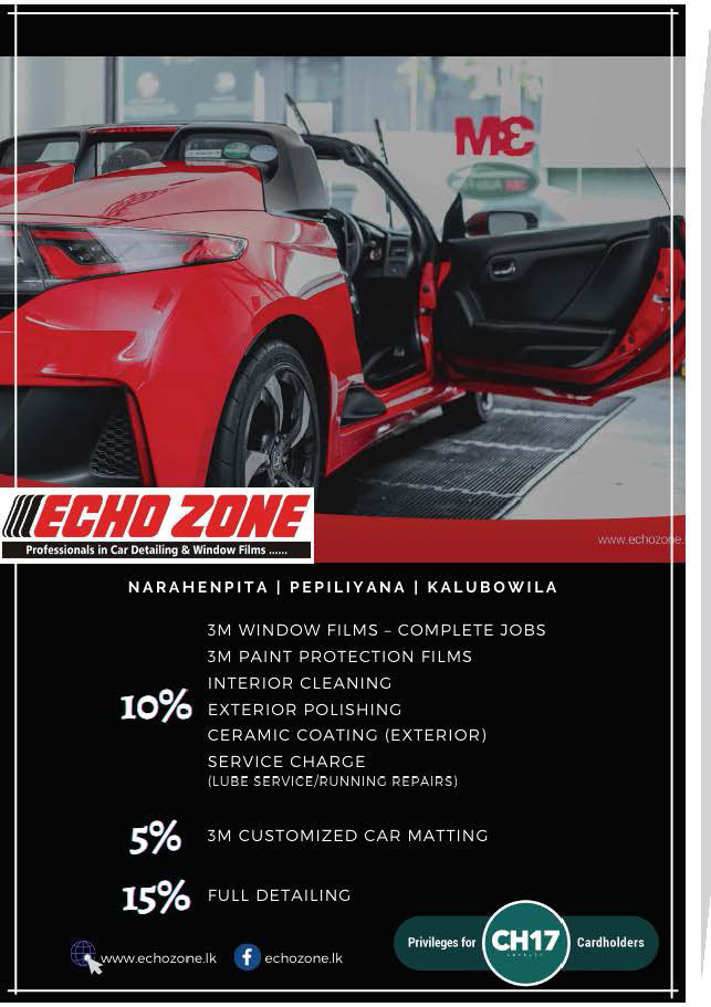 Get upto 15% discounts from EchoZone