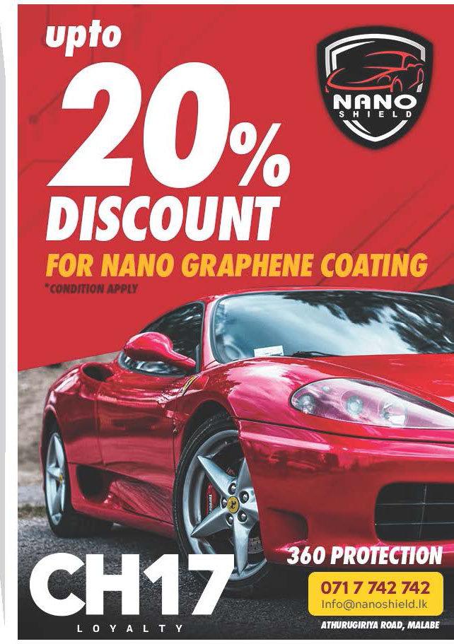 Upto 20% Discount for Nano Graphene Coating from NanoShield