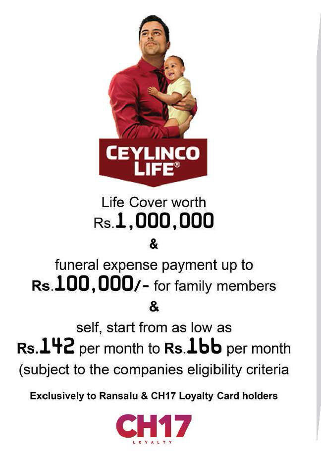 Get Exclusive benefits from Ceylinco Life
