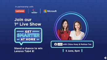 """""""Going LIVE"""" – Get Smarter At Home With Lenovo"""