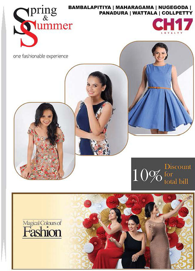 10% Off on the Total Bill from Spring & Summer