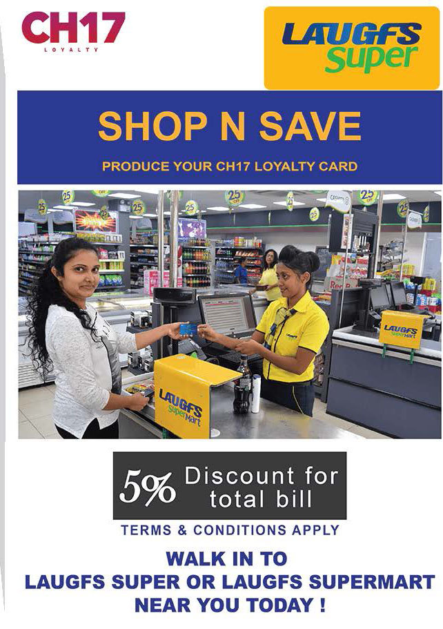 5% Off on the Total Bill from Laughs Super
