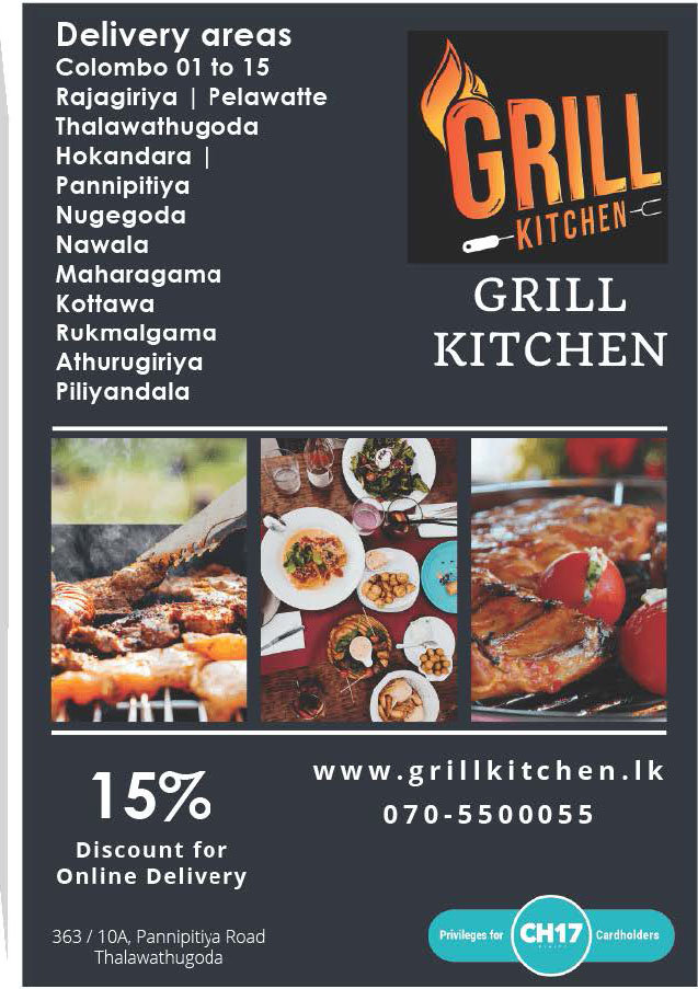 Get 15% discounts on online delivery from GRILL Kitchen