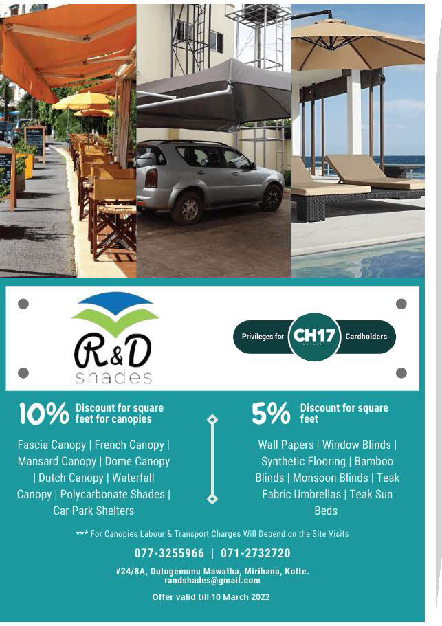 Up to 10% Off from R & D Shades