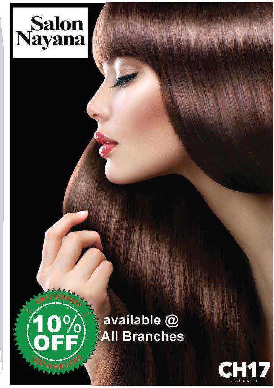 Get 10% from Salon Nayana