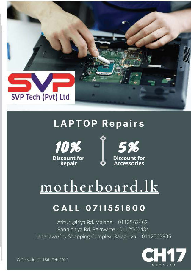 Get 10% off from Laptop repairs from SVP