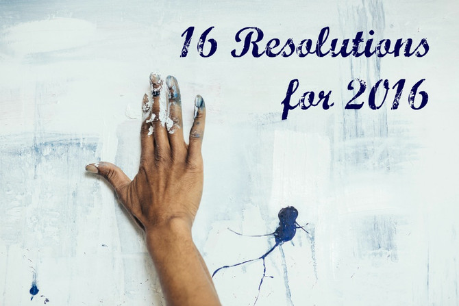 16 Resolutions for 2016