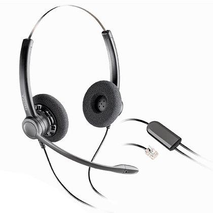 SP12 DIADEMA TELEFONICA BIAURAL +ADAPTADOR USB