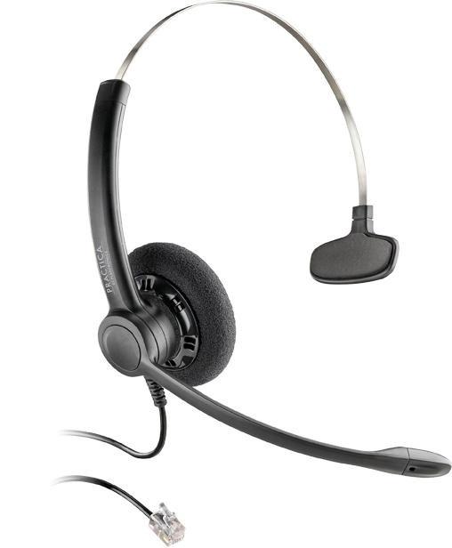 SP11 DIADEMA TELEFONICA MONOAURAL +ADAPTADOR